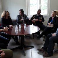 Επισκέψεις της υποψήφιας Δημάρχου Σερβίων Ρίτσας Σπυρίδου σε ΛΑΡΚΟ και ΜΕΤΕ – Δείτε φωτογραφίες