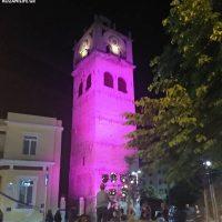 Φωτίστηκαν μωβ το καμπαναριό και το Δημαρχείο της Κοζάνης με σκοπό την ευαισθητοποίηση του κοινού για τα ΙΦΝΕ – Δείτε φωτογραφίες