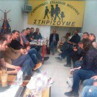 Συναντήσεις του Δημάρχου Κοζάνης με τον Εμπορικό Σύλλογο και το Τεχνικό Επιμελητήριο
