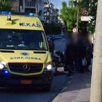 Τροχαίο ατύχημα στην Κοζάνη: Οδηγός μηχανής χτύπησε γυναίκα στην οδό Γκέρτσου – Δείτε φωτογραφίες