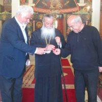 Αρχιερατική Θεία Λειτουργία την Τετάρτη της Διακαινησίμου στο Μητροπολιτικό Εξωκλήσι του Αγίου Βαραδάτου του Κουβουκλιώτη