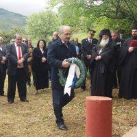 Σε κλίμα συγκίνησης τελέστηκε το ετήσιο Μνημόσυνο των τεσσάρων Στρατιωτών στο Μεσόβουνο Εορδαίας