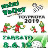 Α.Σ. Αριστέας Φιλώτα Αμυνταίου: Τουρνουά Mini Volley 2019 στον Φιλώτα – Έλα και συ, το παιχνίδι ξεκινά!