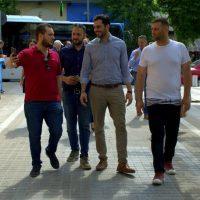 Την Κοζάνη επισκέφτηκε ο Γραμματέας του Κινήματος Αλλαγής Μανώλης Χριστοδουλάκης