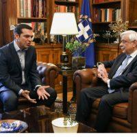 Παραιτήθηκε η κυβέρνηση Τσίπρα – Ο πρωθυπουργός ζήτησε εκλογές για να μην διαταραχθεί η οικονομία από παρατεταμένη προεκλογική περίοδο