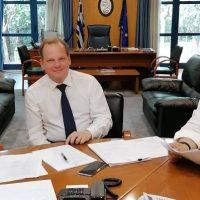Δέσμευση του νέου Υπουργού Υποδομών Κ. Καραμανλή να σταματήσουν οι εργασίες κατασκευής διοδίων έξω από τη Σιάτιστα – Επανεξετάζεται το ζήτημα