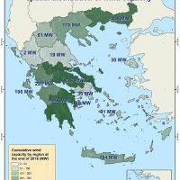 Η Στατιστική της Αιολικής Ενέργειας για το πρώτο εξάμηνο του 2019 – Ξεπέρασε τα 3.000 MW η συνολική αιολική ισχύς στην Ελλάδα