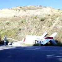 Νεότερη ενημέρωση για την πτώση του μονοκινητήριου αεροσκάφους έξω από τα Γρεβενά και την κατάσταση των επιβαινόντων