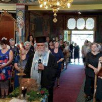 Αναχώρησε το ιερό λείψανο του Αγίου Διονυσίου εν Ολύμπω από το Βελβεντό Μακεδονίας της Ιεράς Μητροπόλεως Σερβίων και Κοζάνης