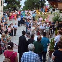 Πλήθος πιστών στον Ι.Ν. της Μεταμορφώσεως του Σωτήρος στην Κοζάνη ενόψει της μεγάλης εορτής – Δείτε φωτογραφίες