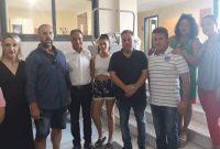 Ευχαριστήριο της Εθελοντικής Ομάδας Λευκοπηγής για την απόκτηση κινητού απινιδωτή στην Τ.Κ. Λευκοπηγής