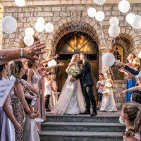 Ο λαμπερός γάμος της Ρούσσας Παπαϊωάννου και του Σπύρου Χαρισόπουλου στην Κοζάνη