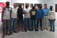 Επίσκεψη της Δομής Φιλοξενίας Ασυνόδευτων Ανηλίκων στη φωτογραφική έκθεση του Περικλή Μεράκου στο Μουσείο Τεχνών Κοζάνης