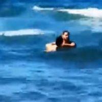 Ναυαγοσώστης σε παραλία της Κρήτης έσωσε γυναίκα που ήθελε να αυτοκτονήσει – Δείτε το βίντεο