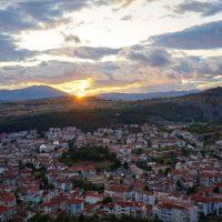 Η φωτογραφία της ημέρας: Ηλιοβασίλεμα στην Κοζάνη μετά την βροχή
