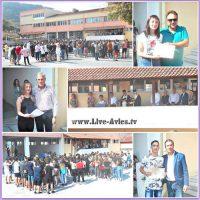 Ο αγιασμός του Γυμνασίου – Λυκείου Σερβίων – Δείτε το βίντεο