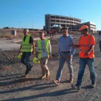 Επίσκεψη του Περιφερειάρχη Δυτικής Μακεδονίας στο εργοτάξιο του Πανεπιστημίου στην ΖΕΠ Κοζάνης