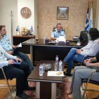 Τον Αστυνομικό Διευθυντή Κοζάνης Διόγκαρη Σπύρο επισκέφθηκε ο Δήμαρχος Σερβίων Χρήστος Ελευθερίου
