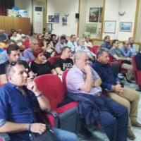 Με επιτυχία πραγματοποιήθηκε η 1η διευρυμένη συνεδρίαση Εμπορικών Συλλόγων της Π.Ε. Κοζάνης στα Σέρβια