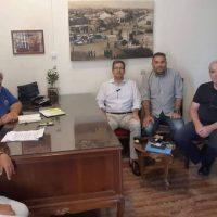 Συνάντηση του Δημάρχου Εορδαίας Παναγιώτη Πλακεντά με τον Πρύτανη του Πανεπιστημίου Δυτικής Μακεδονίας Θεόδωρο Θεοδουλίδη