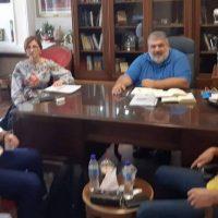Συνάντηση του Δημάρχου Εορδαίας με τον Δ/ντή Ερευνών Παραρτήματος Πτολεμαΐδας του ΕΚΕΤΑ/ΙΔΕΠ