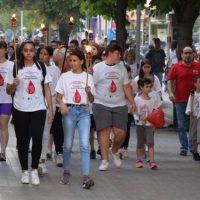 Πραγματοποιήθηκε η 17η λαμπαδηδρομία από τους Αιμοδότες Αιμοπεταλιόδες της «Σταγόνας Ελπίδας» στην Κοζάνη – Δείτε βίντεο και φωτογραφίες