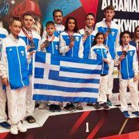 Οκτώ μετάλλια για τους αθλητές της Μακεδονικής Δύναμης Κοζάνης στο G1 Open της Αλβανίας 2019