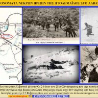 Οι νεκροί ήρωες της Πτολεμαΐδας από την έναρξη του πολέμου του 1940 έως τις 18 Αυγούστου 1941 – Του Σταύρου Καπλάνογλου
