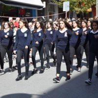 Με λαμπρότητα ο εορτασμός της Απελευθέρωσης της Κοζάνης – Δείτε φωτογραφίες από την μαθητική παρέλαση