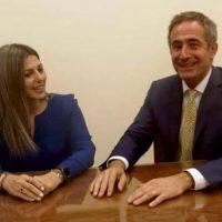 Συνάντηση του Στάθη Κωνσταντινίδη με την Υφυπουργό Παιδείας Σοφία Ζαχαράκη