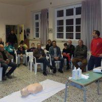 Διοργανώθηκε με επιτυχία στην Κερασιά Κοζάνης η παρουσίαση παροχής πρώτων βοηθειών από την εκπαιδευτική ομάδα του ΕΚΑΒ Κοζάνης