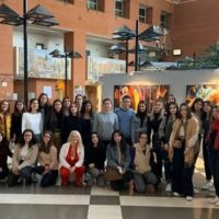 Επισκέψεις των πρωτοετών φοιτητών του τμήματος Εργοθεραπείας του ΠΔΜ στο πλαίσιο των Ασκήσεων Πράξης της σχολής