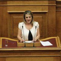 Ολυμπία Τελιγιορίδου: «Η κυβέρνηση λέει ψέματα ότι ενισχύει την Καστοριά»