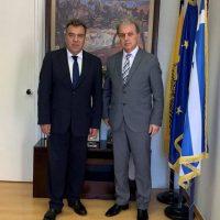 Συνάντηση του Γ. Αμανατίδη για θέματα τουριστικής στρατηγικής του Ν. Κοζάνης με τον Υφυπουργό Τουρισμού Μάνο Κόνσολα