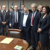 Συνάντηση εκπροσώπων του Δήμου Εορδαίας με τον Υπουργό Περιβάλλοντος και Ενέργειας Κωστή Χατζηδάκη