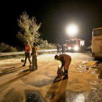 Δύο σοβαρά τροχαία ατυχήματα την Παραμονή των Χριστουγέννων σε Πιερία και Ημαθία – Ένας νεκρός και δύο τραυματίες ο απολογισμός