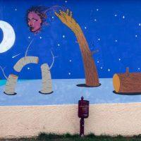 Τοιχογραφικές παρεμβάσεις στο Δημοτικό Σχολείο Γαλατινής Δήμου Βοΐου από φοιτητές της Σχολής Καλών Τεχνών