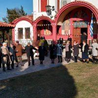 Ο παραδοσιακός κυκλικός χορός των Θεοφανείων 2020 στην Ενορία του Αγίου Διονυσίου εν Ολύμπω στο Βελβεντό