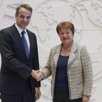 Ανακοίνωσε το κλείσιμο του γραφείου του Διεθνούς Νομισματικού Ταμείου στην Αθήνα ο Πρωθυπουργός