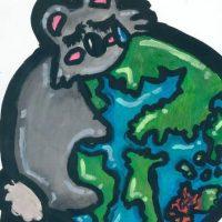 Το οικολογικό μήνυμα μέσα από τα μάτια μιας μαθήτριας του Μουσικού Σχολείου Σιάτιστας για τις πυρκαγιές της Αυστραλίας