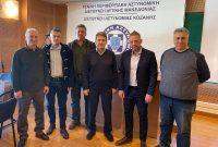 Συνάντηση αντιπροσωπείας της Ένωσης Αστυνομικών Υπαλλήλων Κοζάνης με τον Υπουργό Προστασίας του Πολίτη κ. Μιχάλη Χρυσοχοΐδη