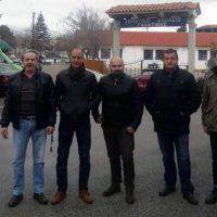 """Επίσκεψη κλιμακίου της """"Ελληνικής Αυγής για την Δυτική Μακεδονία"""" στην Σιάτιστα"""