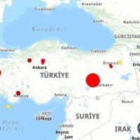 Ισχυρός σεισμός 6,8 Ρίχτερ στην Τουρκία – Φόβοι για μεγάλες ζημιές