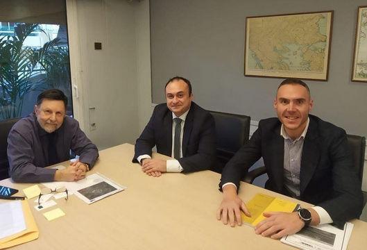 Σε συνάντηση εργασίας με τον Υφυπουργό Χωροταξίας και Αστικού Περιβάλλοντος κ. Δημήτριο Οικονόμου ο Αντιπεριφερειάρχης Περιφερειακής Ανάπτυξης κ. Νικόλαος Λυσσαρίδης.