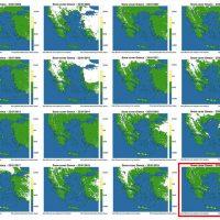 Καιρός: «Εξαφανίζεται» το χιόνι από την Ελλάδα – Μόνο το 3% της έκτασης της χώρας καλύπτεται από χιόνι – Τι δείχνουν οι δορυφορικές εικόνες