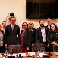 Στάθης Κωνσταντινίδης: Συνάντηση της ελληνικής Κοινοβουλευτικής Επιτροπής με την αντίστοιχη σουηδική με θέμα το μεταναστευτικό/προσφυγικό