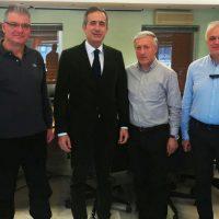 Επίσκεψη συνεργασίας του Βουλευτή Ν. Κοζάνης Στάθη Κωνσταντινίδη στην ΑΝΚΟ