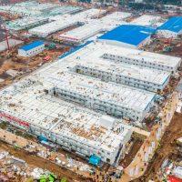 Εκπληκτικό time-lapse αποτυπώνει το μοναδικό κατόρθωμα των Κινέζων: Η κατασκευή του νοσοκομείου για τον κορονοϊό σε 10 ημέρες