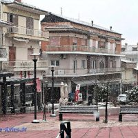 Το πρώτο χιόνι στα Σέρβια Κοζάνης – Δείτε το βίντεο