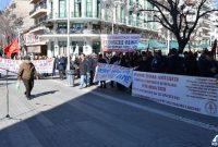 Πραγματοποιήθηκε απεργιακή συγκέντρωση Σωματείων για το Ασφαλιστικό στην Κοζάνη – Δείτε βίντεο και φωτογραφίες